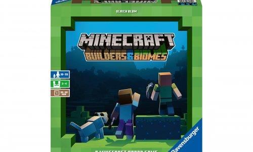 MINECRAFT: BUILDERS & BIOMES // Brettspiel erscheint im Oktober 2019