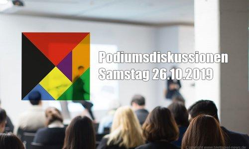 SPIEL'19 // Podiumsdiskussionen am Samstag