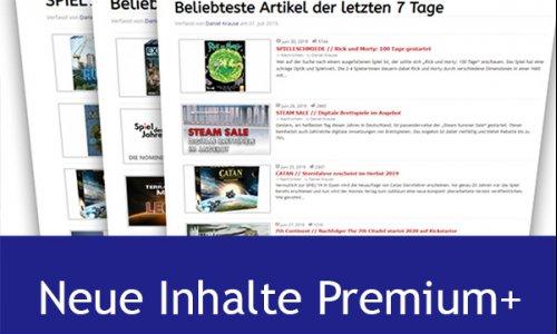 Premium+ // Neue Inhalte ab sofort verfügbar
