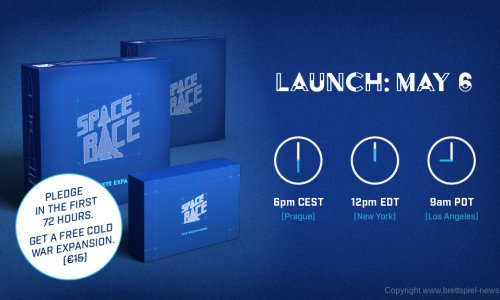 KICKSTARTER // SPACE RACE ist gestartet
