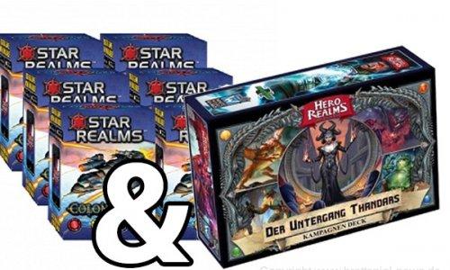 STAR REALMS + Hero Realms // Die Preise purzeln
