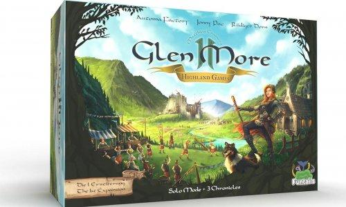 KICKSTARTER // GLEN MORE II: HIGLAND GAMES gestartet