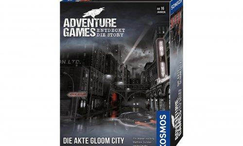 ADVENTURE GAMES // Die Akte Gloom City erscheint im Jan 2021