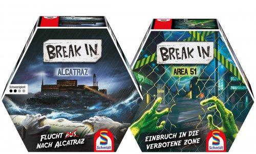 BREAK IN // Neue Schmidt Spiele Serie