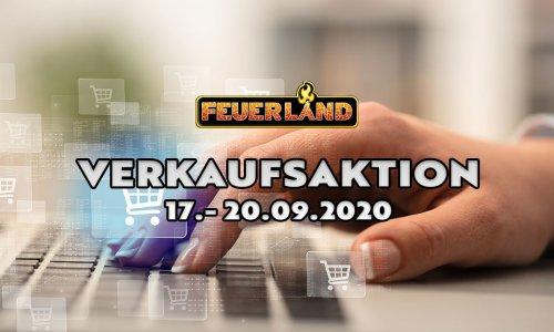 FEUERLAND // Verkaufsaktion im September 2020