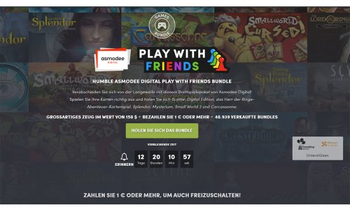 HUMBLE BUNDLE // Digitale Brettspiele zum Schnäppchen-Preis