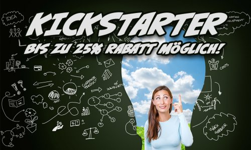 KICKSTARTER // 25% Rabatt? Kickstarter Loyalty Points starten im April