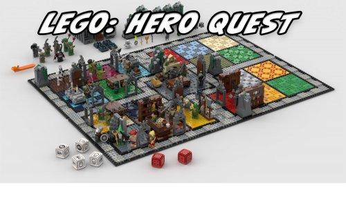 LEGO HERO QUEST // Lego Brettspiel könnte kommen