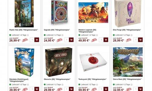 MÄNGELEXEMPLARE // clever kaufen und Geld sparen