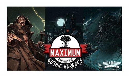 SPIELESCHMIEDE // Maximum Apocalypse: Grausige Schrecken