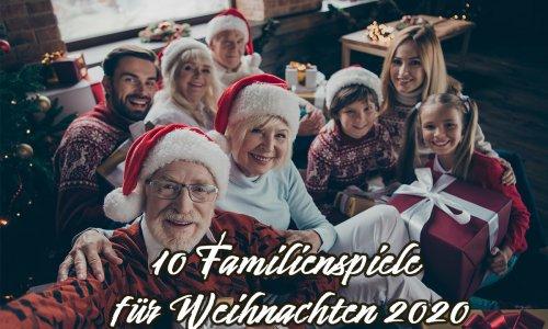 ADVENT // 10 Familienspiele für Weihnachten 2020