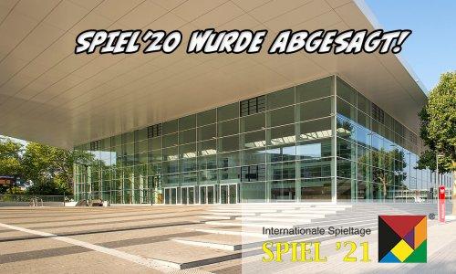 SPIEL'20 // Abgesagt wegen Covid-19