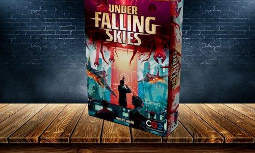 UNDER FALLING SKIES // was ist in der Box?