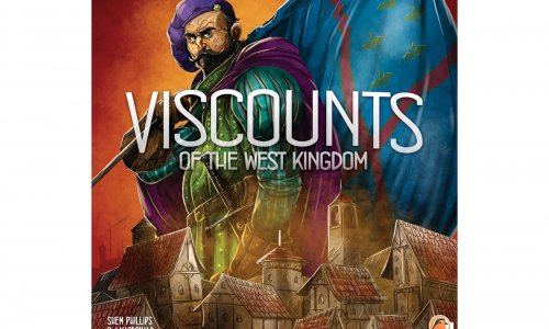 VISCOUNTS OF THE WEST KINGDOM // Von Garphill Games angekündigt
