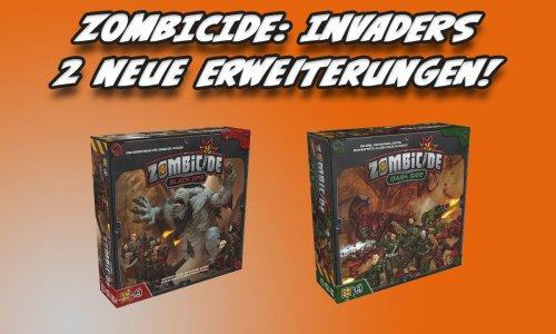 ZOMBICIDE: INVADERS // Black Ops + Dark Side im Handel