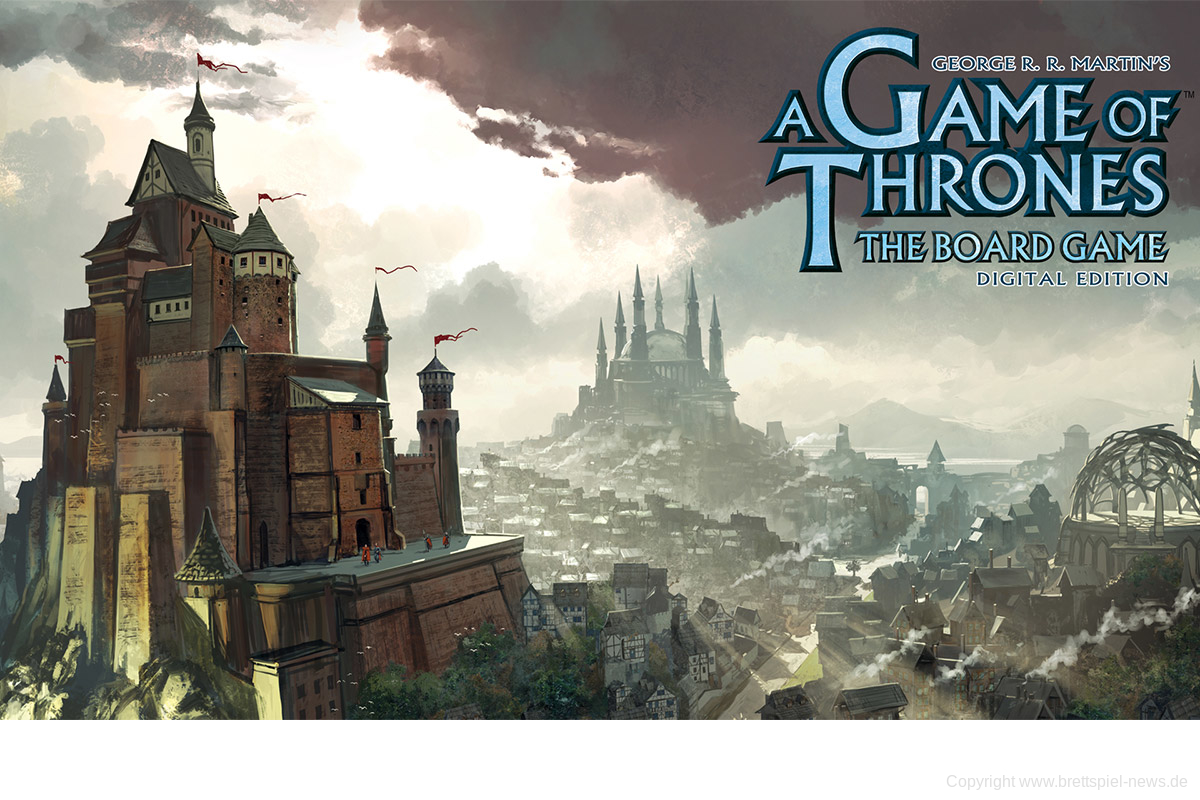 A GAMES OF THRONES: THE BOARDGAME – DIGITAL EDITION // angekündigt
