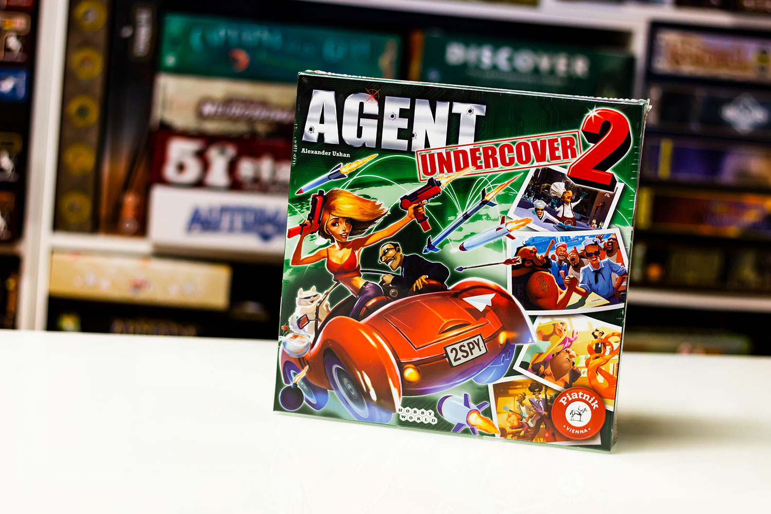 TEST // Agent Undercover 2