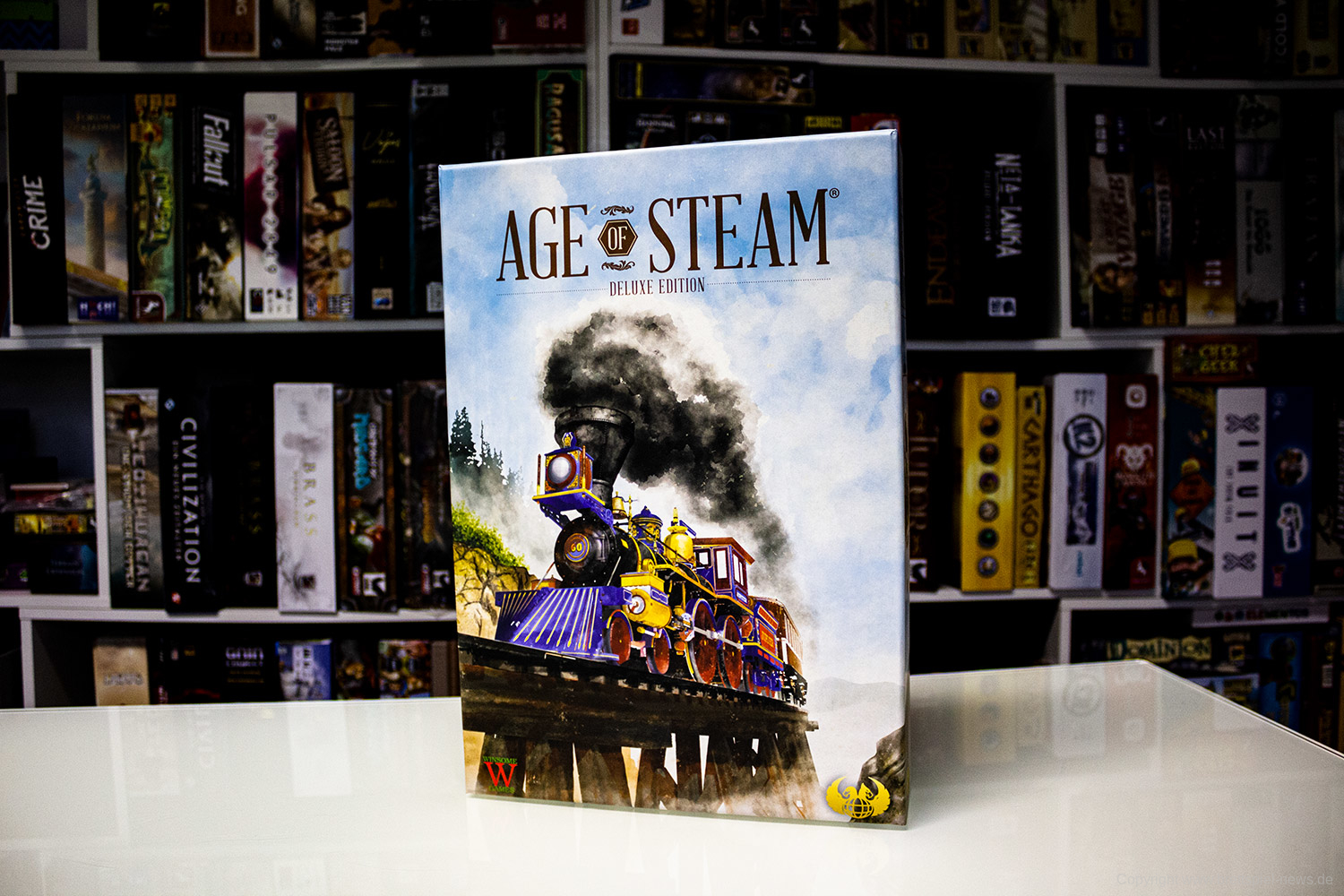 AGE OF STEAM // Deluxe Version verfügbar