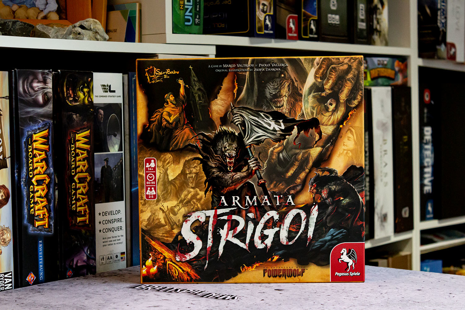 TEST // ARMATA STRIGOI