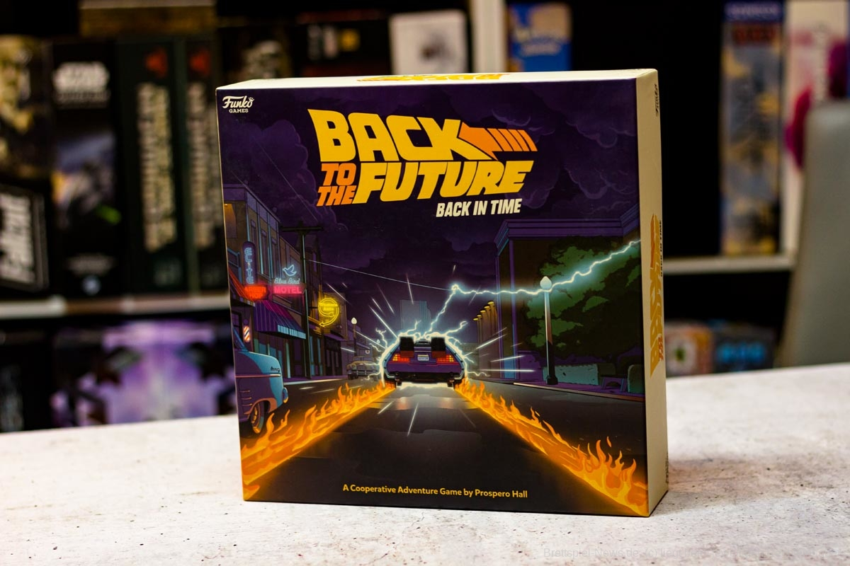 BACK TO THE FUTURE: BACK IN TIME // Bilder des Spielmaterials