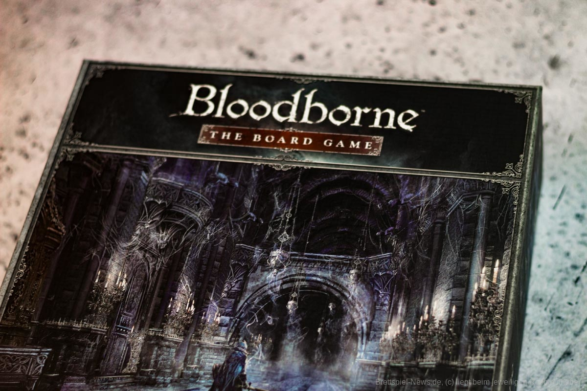 BLOODBORNE: THE BOARD GAME – CHALICE DUNGEON // Bilder des Spielmaterials