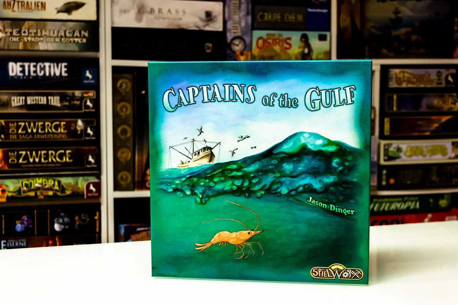 Captains of the Gulf – Bilder vom Spielmaterial