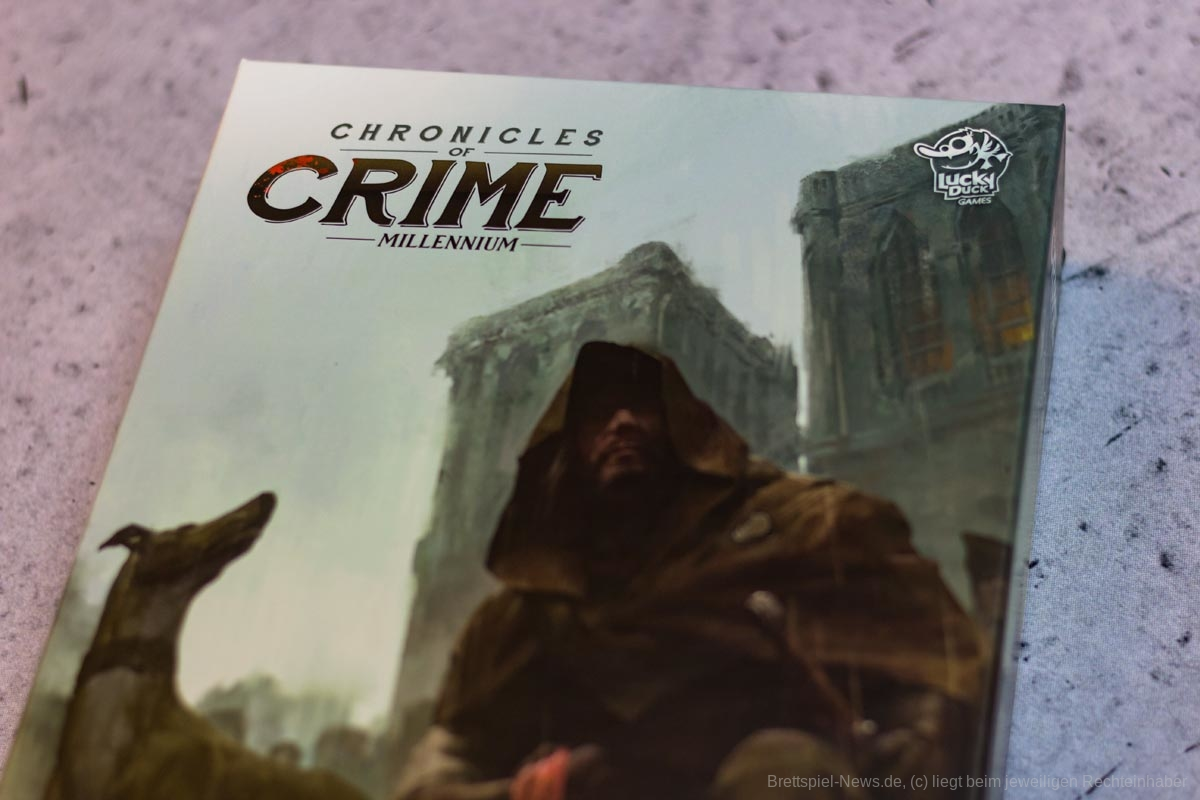 CHRONICLES OF CRIME: 1400 // Bilder des Spielmaterials