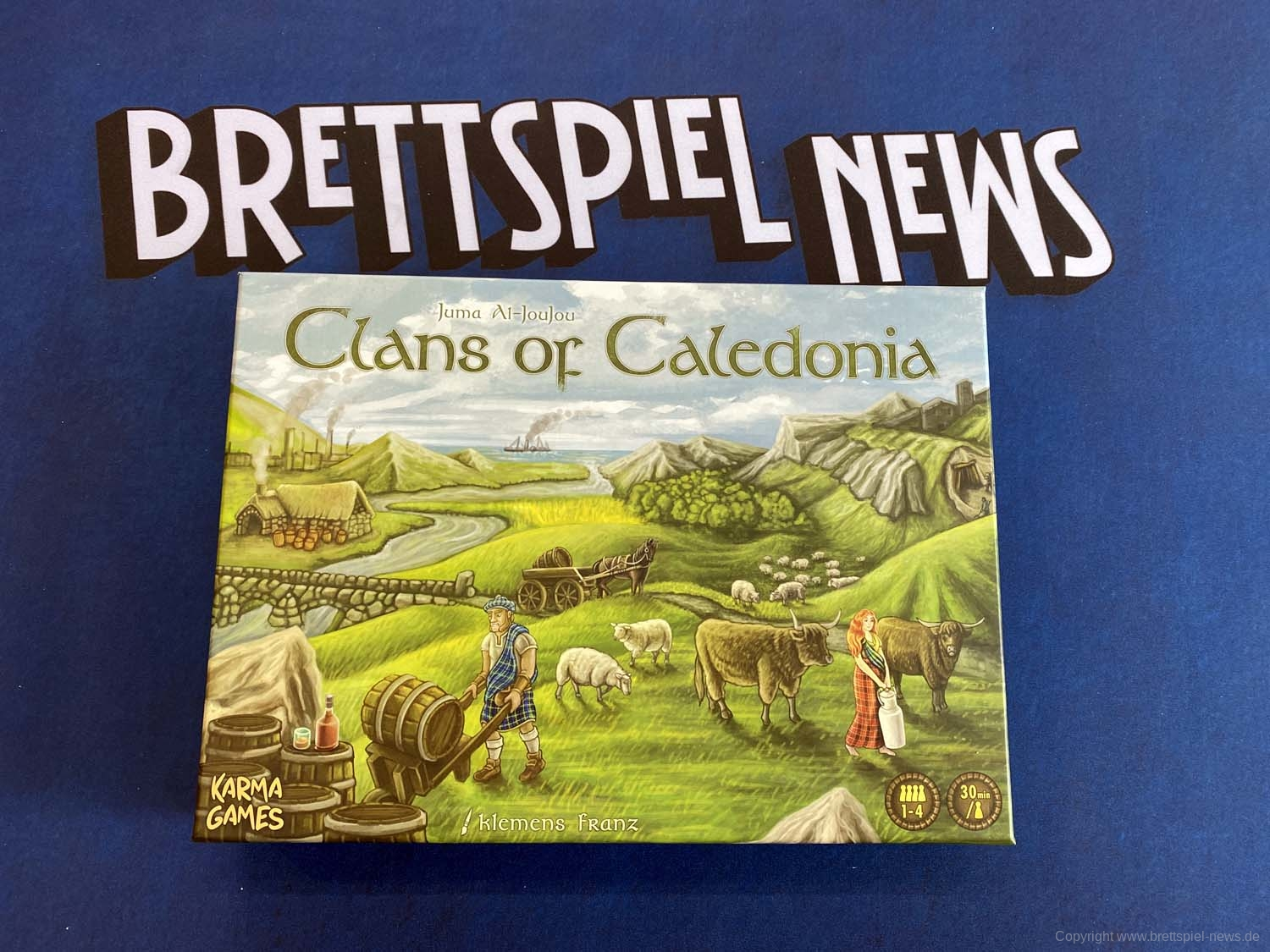 TEST // CLANS OF CALEDONIA