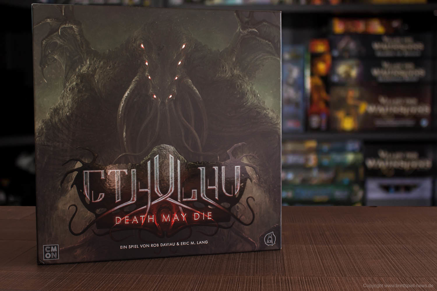 TEST // CTHULHU - DEATH MAY DIE