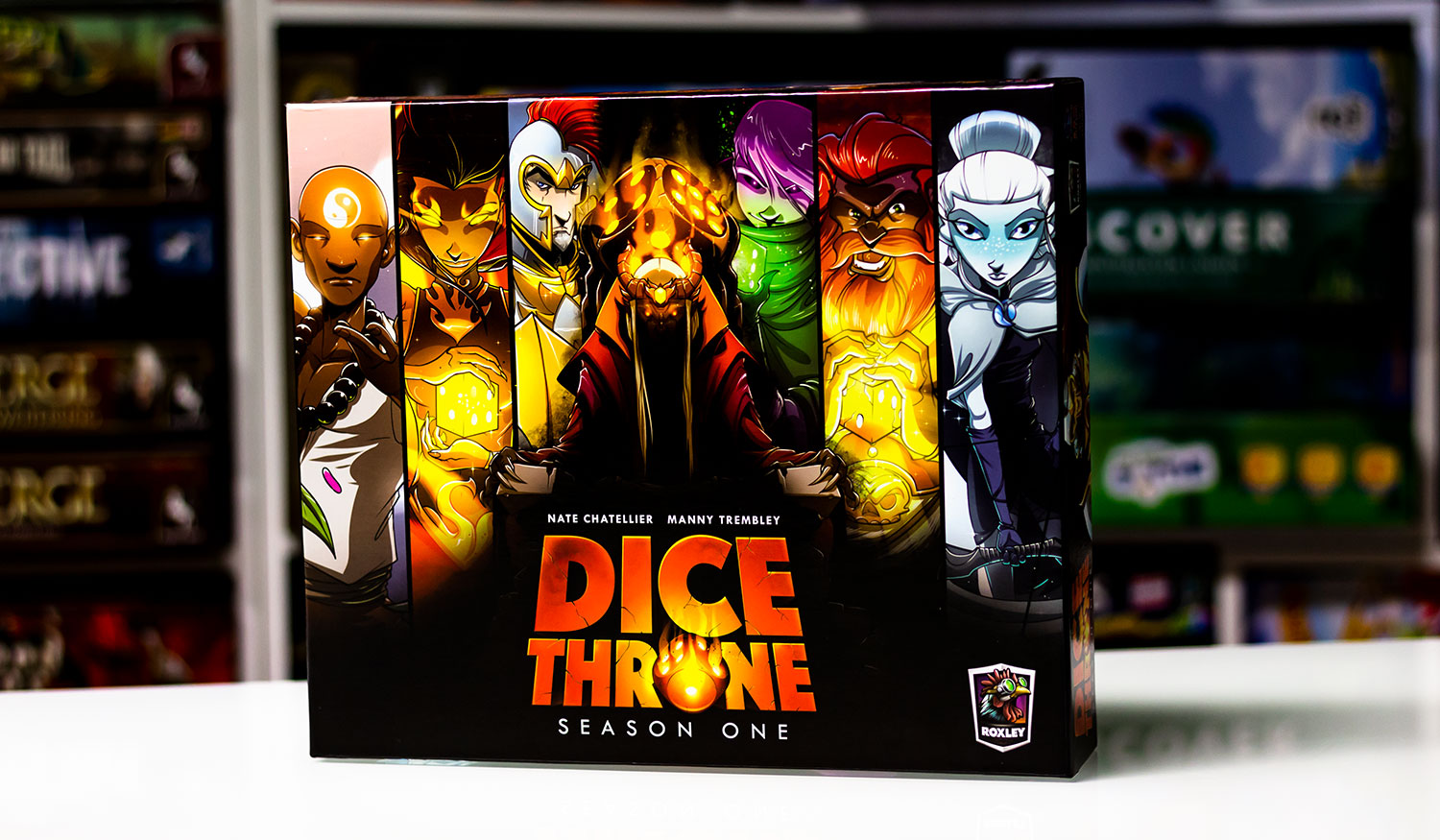 TEST // Dice Throne: Season One