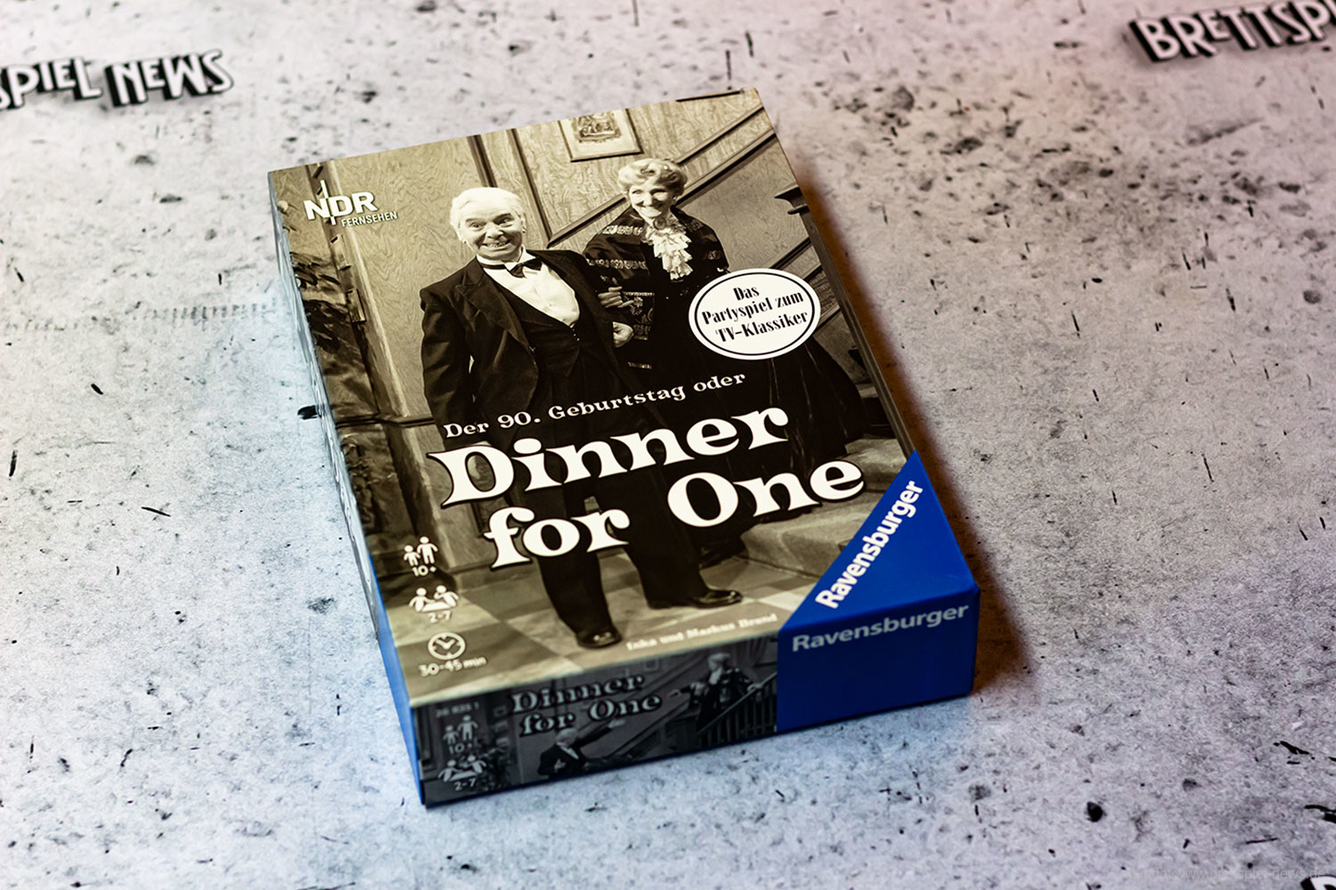 DINNER FOR ONE // Bilder vom Spiel