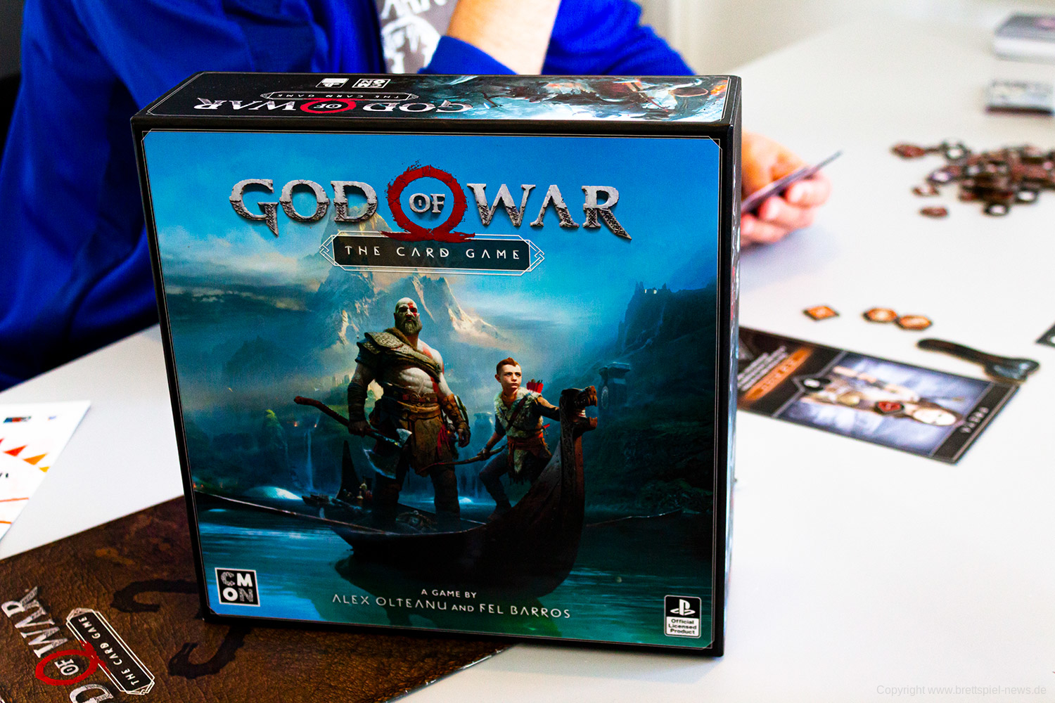GOD OF WAR: THE CARD GAME // Prototyp – erste Bilder