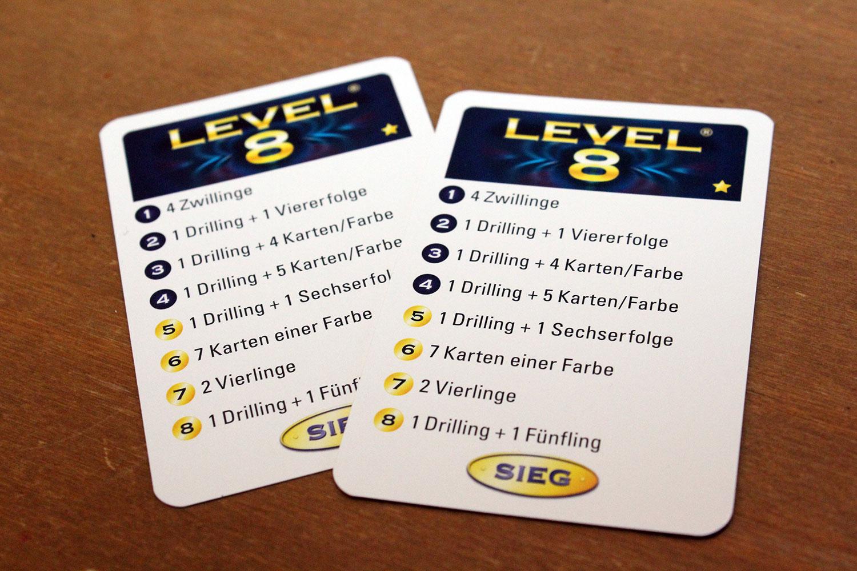 Spiel Level 8