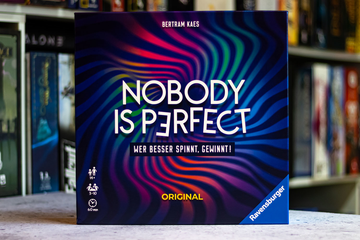 TEST // NOBODY IS PERFECT