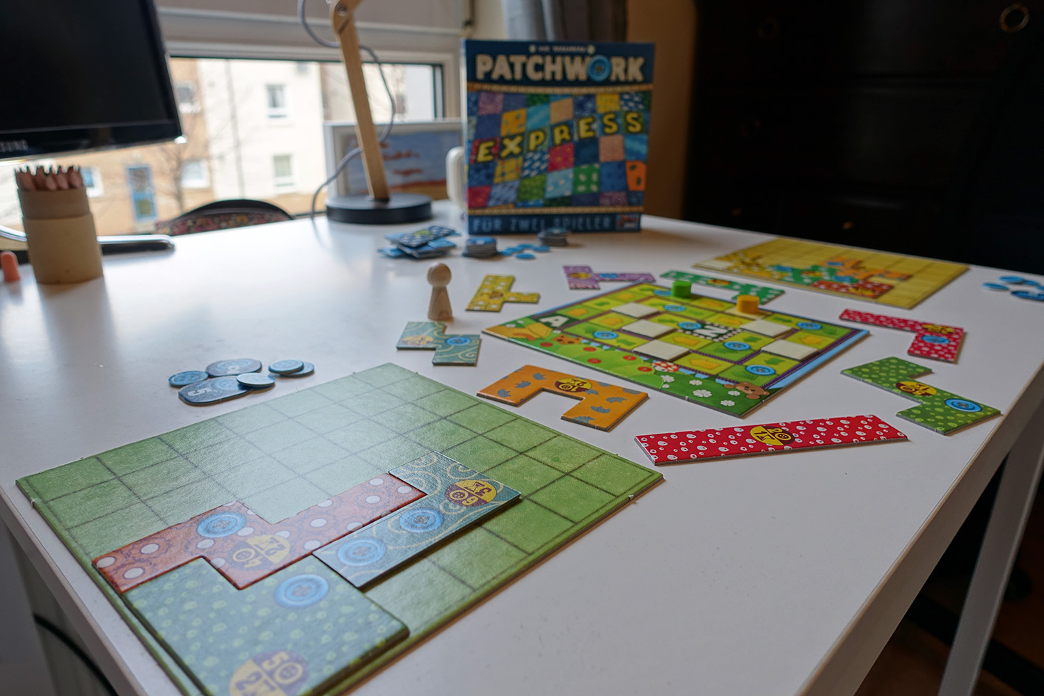 Test // Lass die Fetzen fliegen in Patchwork: Express!