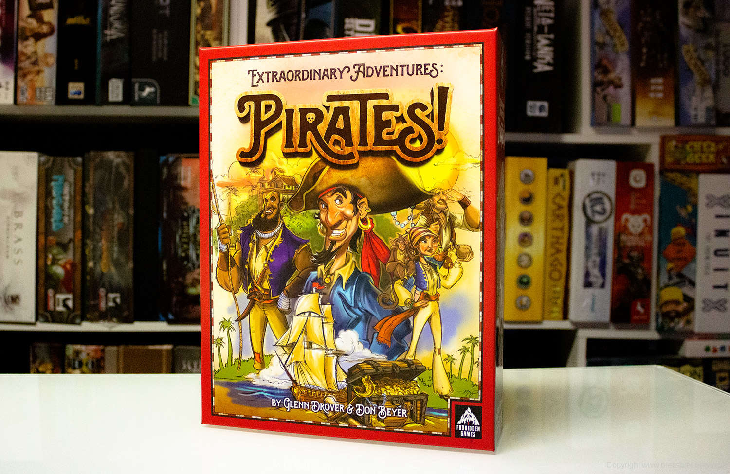 EXTRAORDINARY ADVENTURES: PIRATES // Erste Bilder