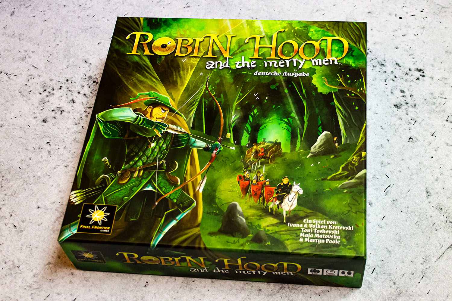 ROBIN HOOD AND THE MERRY MAN // Bilder vom Spiel