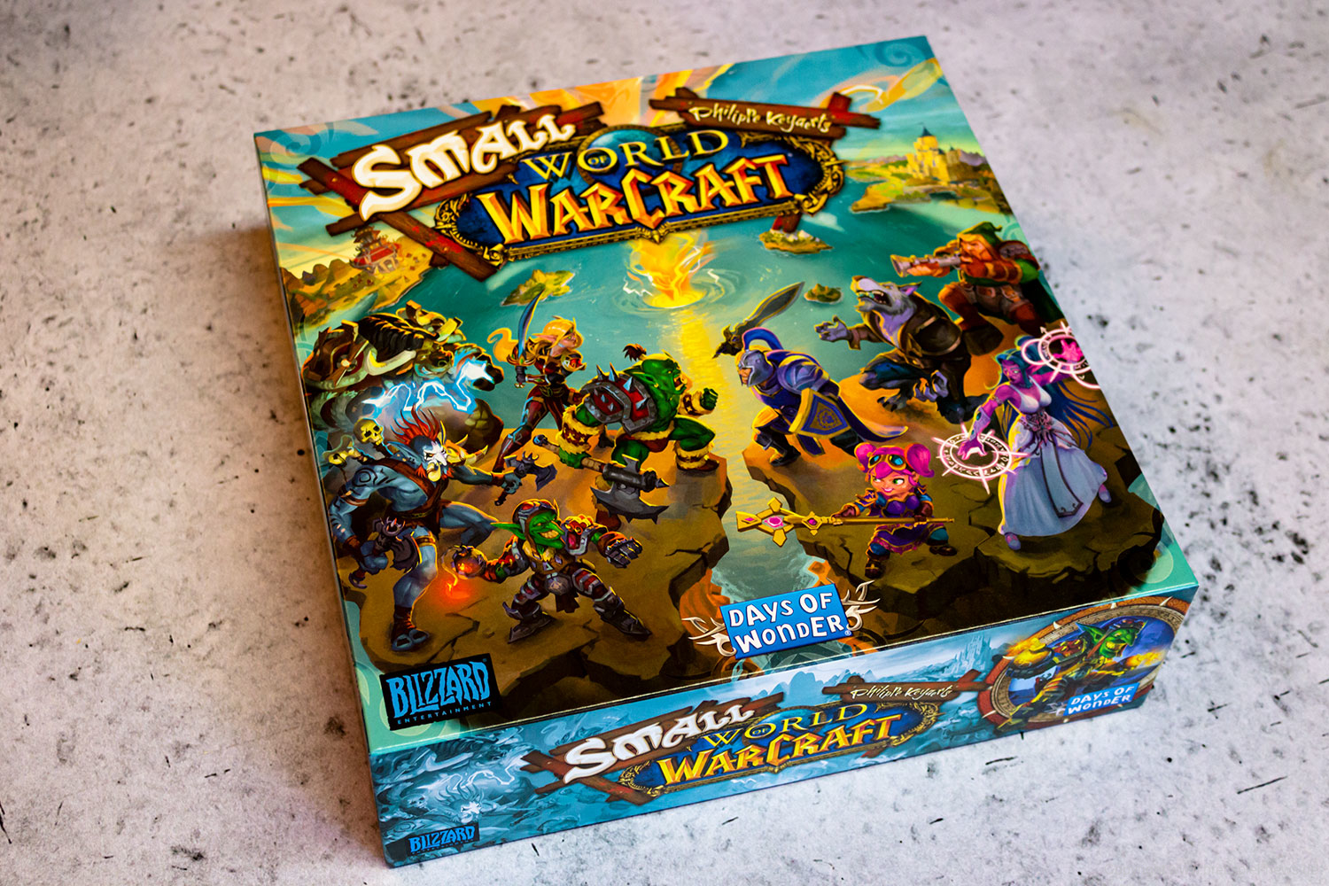 SMALL WORLD OF WARCRAFT // Bilder vom Spiel