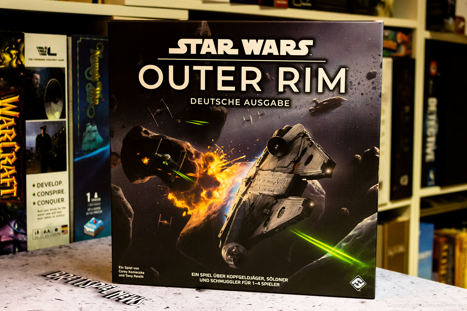 TEST // STAR WARS: OUTER RIM
