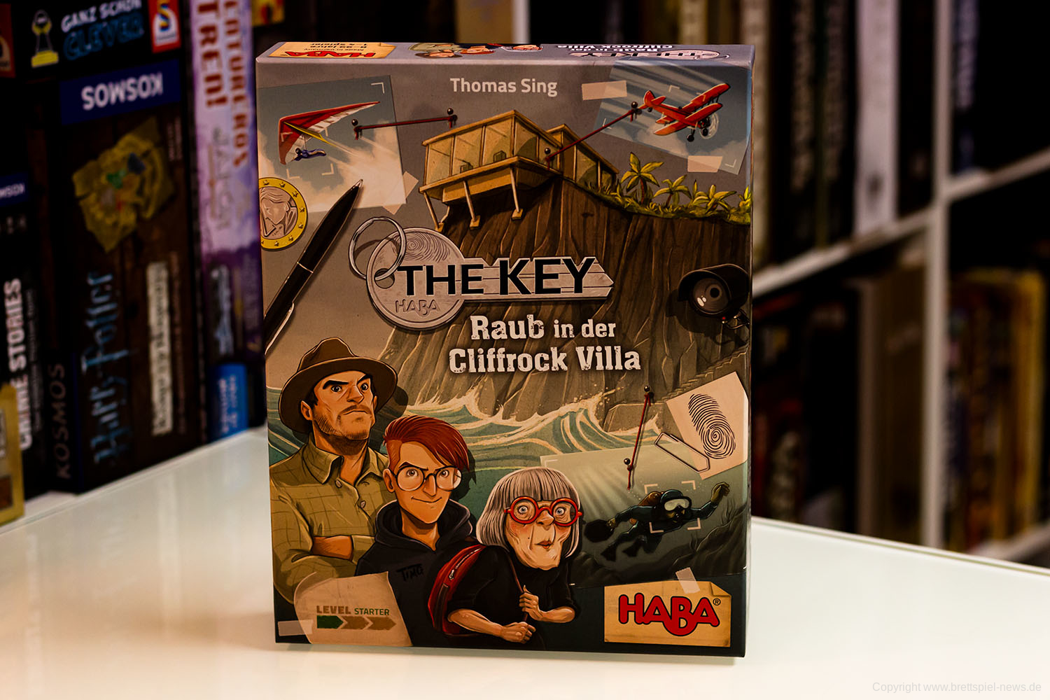TEST // THE KEY – RAUB IN DER CLIFFROCK VILLA