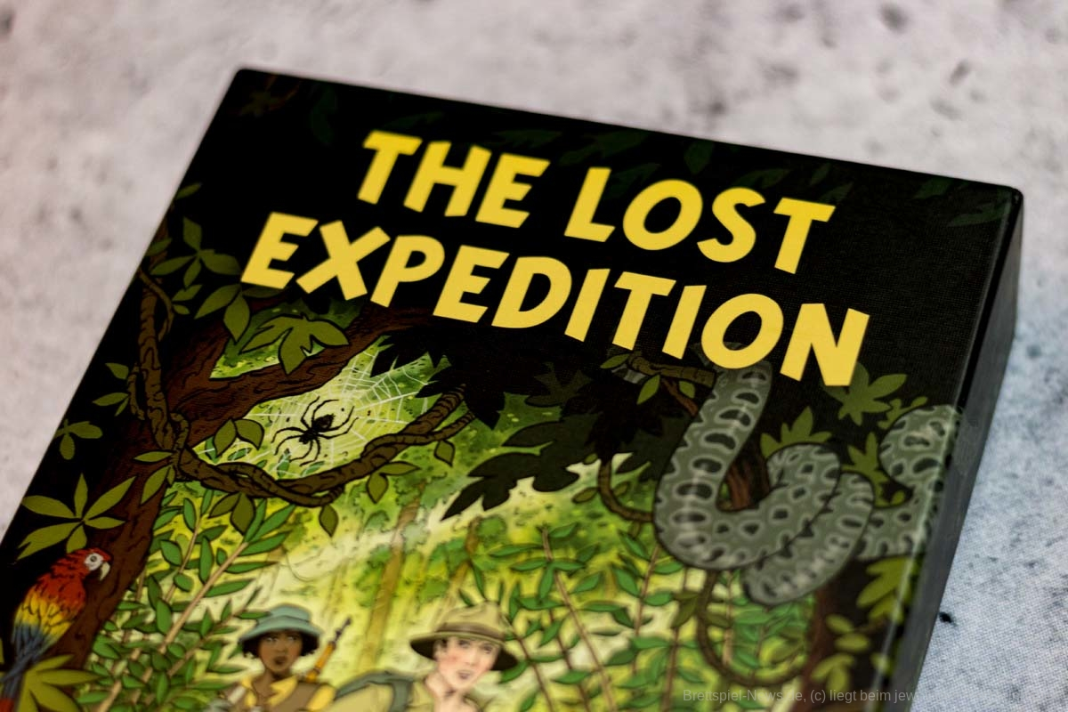 THE LOST EXPEDITION // Bilder des Spielmaterials