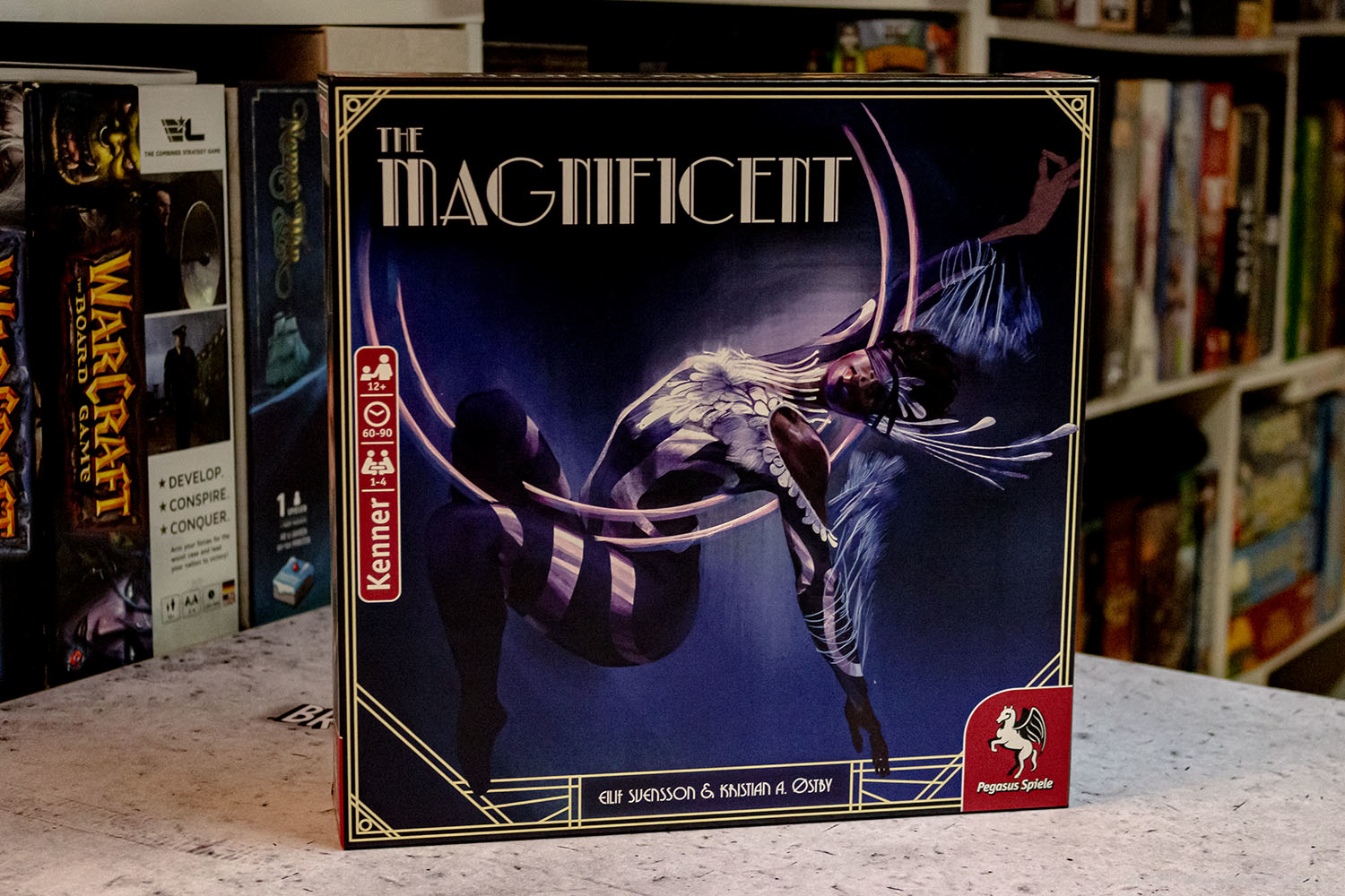 TEST // THE MAGNIFICENT