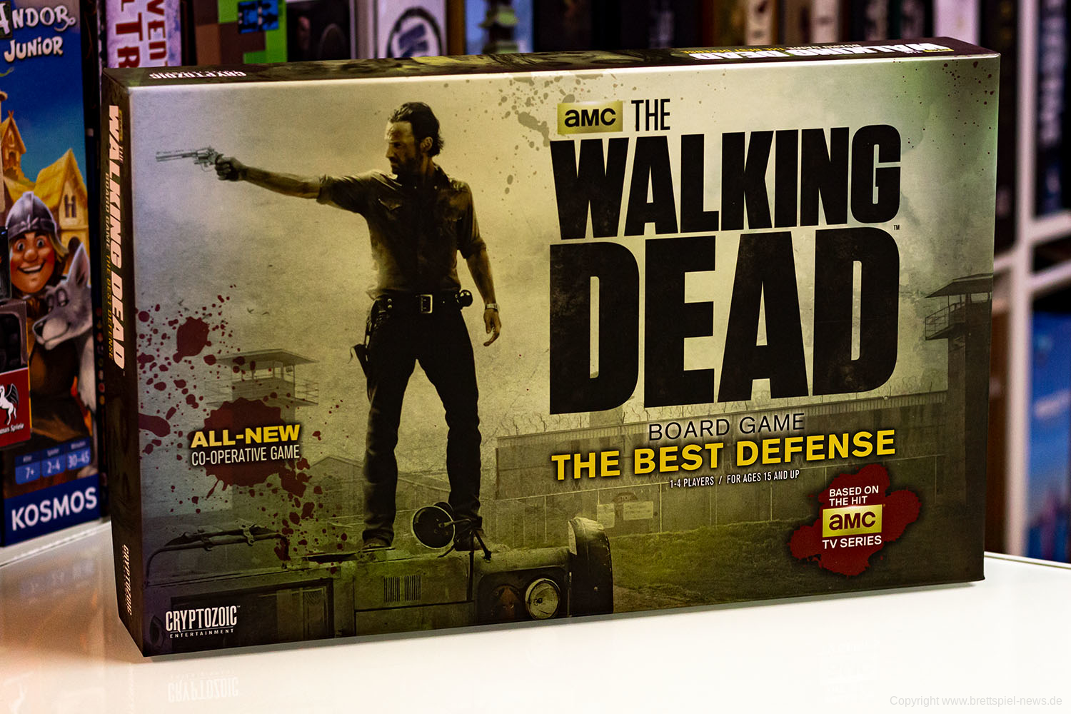 TEST // THE WALKING DEAD BOARD GAME: THE BEST DEFENSE