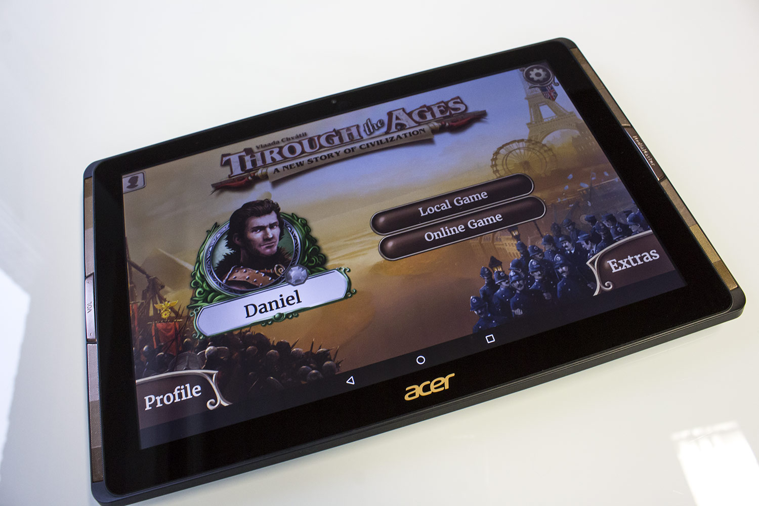 Through the Ages als Android-App - erster Eindruck