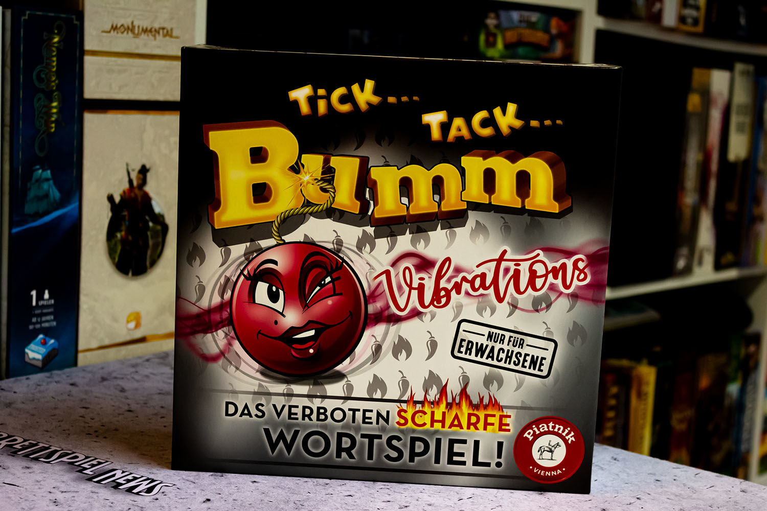 TEST // TICK... TACK... BUMM - VIBRATIONS