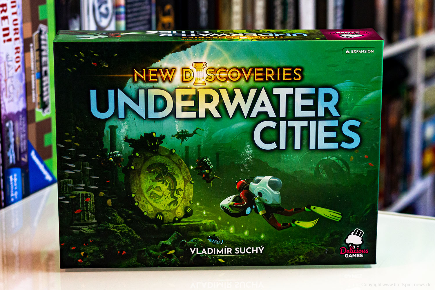 UNDERWATER CITIES: NEW DISCOVERIES // Bilder der Erweiterung