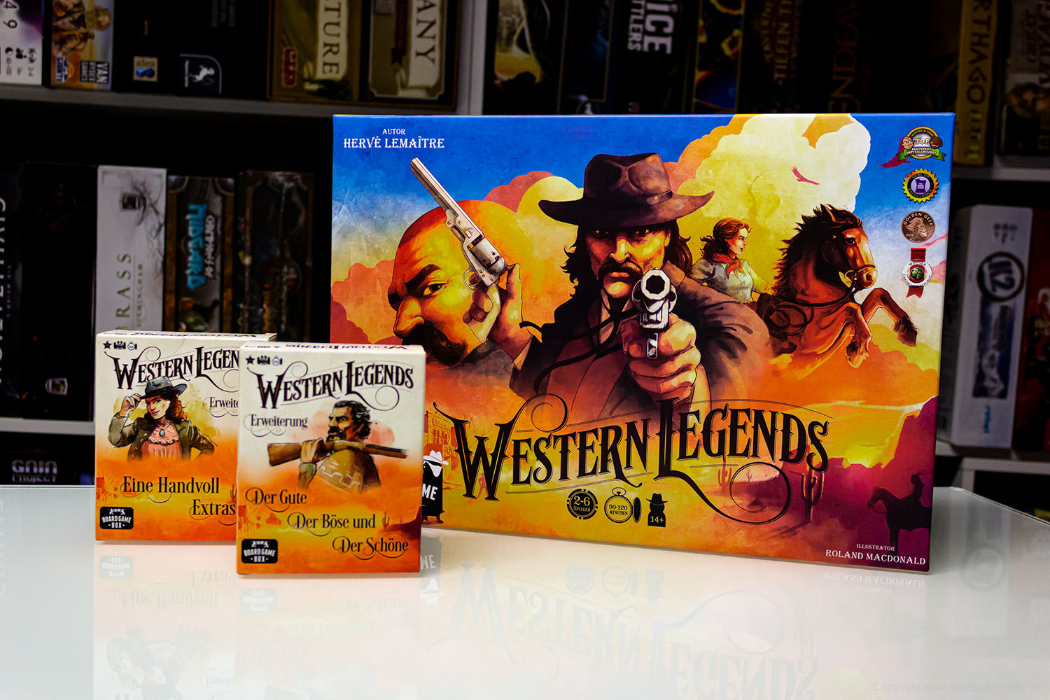 TEST // Western Legends