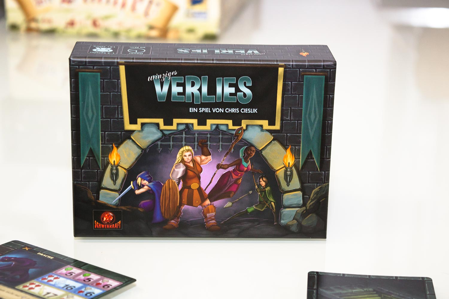 Test: One Deck Dungeon – Winziges Verlies