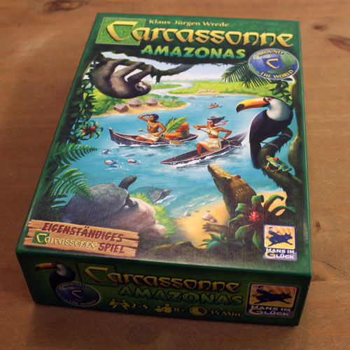 Test: Carcassonne Amazonas, Rezension
