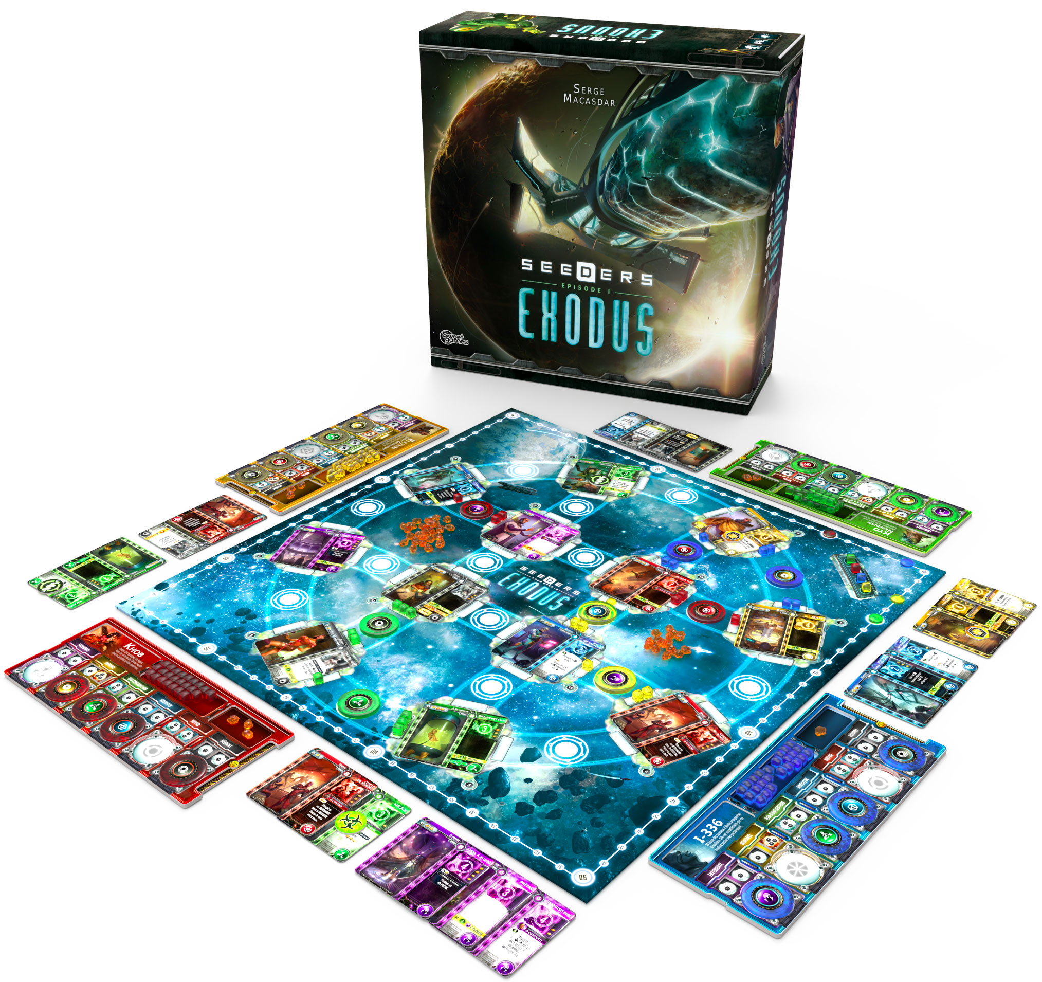 Seeders Series 1:Exodus startet im April in der Spieleschmiede